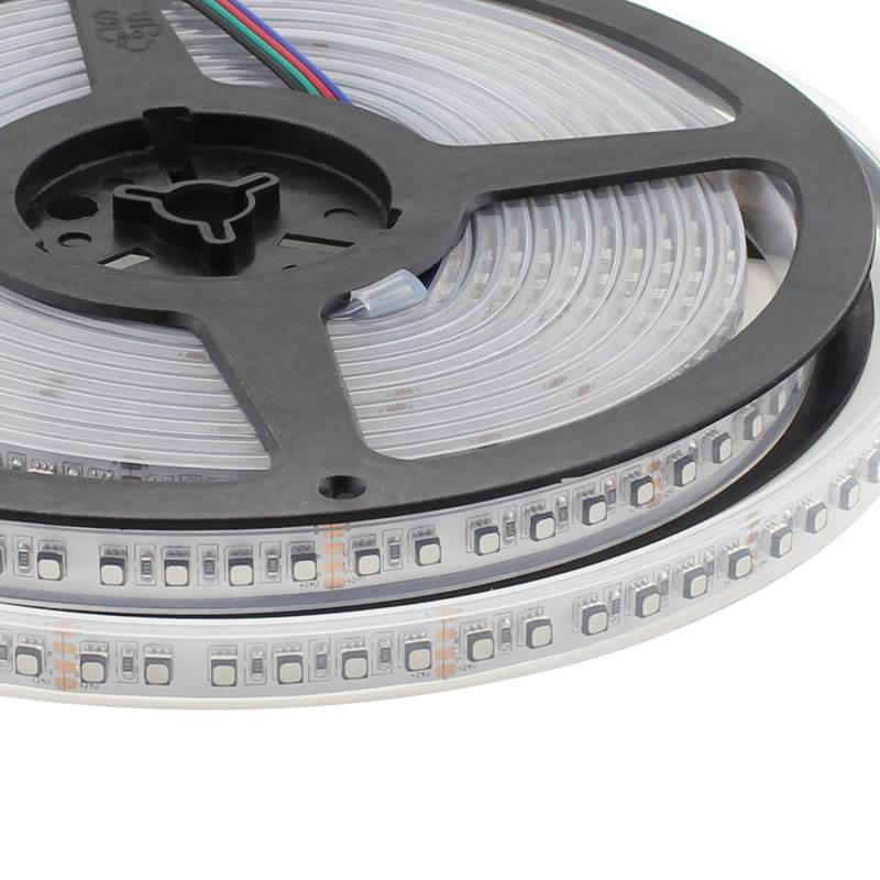 Tira LED SMD3535, ChipLed Samsung, RGB, DC24V, 5m (120Led/m) - IP67, RGB